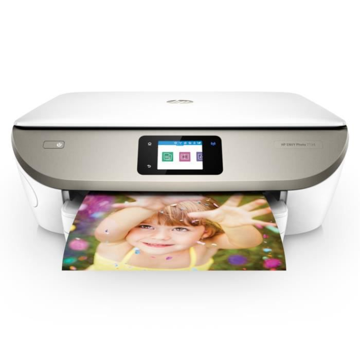 HP Imprimante Tout-en-un ENVY Photo 7134 - Wi-Fi - Couleur + impression gratuite de 300 pages / mois