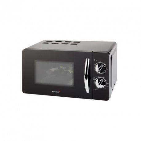 K58040 - Micro-ondes et Grill noir/chrome