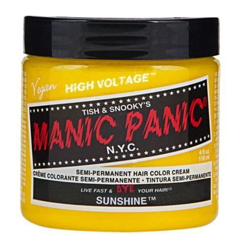 Manic Panic Crème formule colorations semi-permanentes - Sunshine
