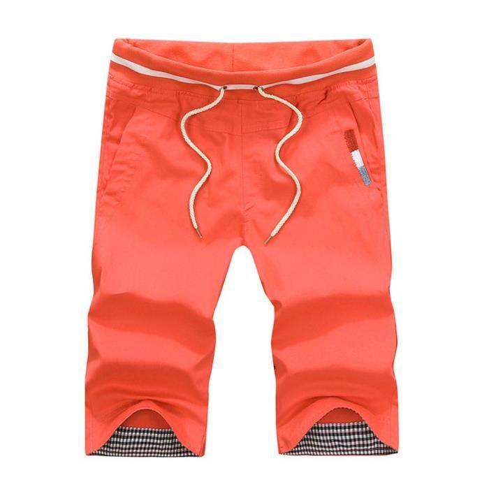 Bermuda Hommes Mode Shorts de Sport Casual Vete...