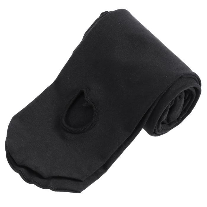 Collants de danse ultra-doux pour filles de opaques confortables Bas à pieds (Noir Taille) COLLANT DE DANSE
