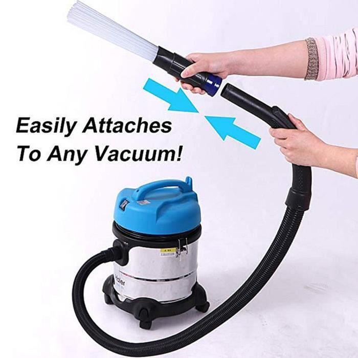 accessoire de nettoyage à brosse saleté accessoire universel pour aspirateur à poussière