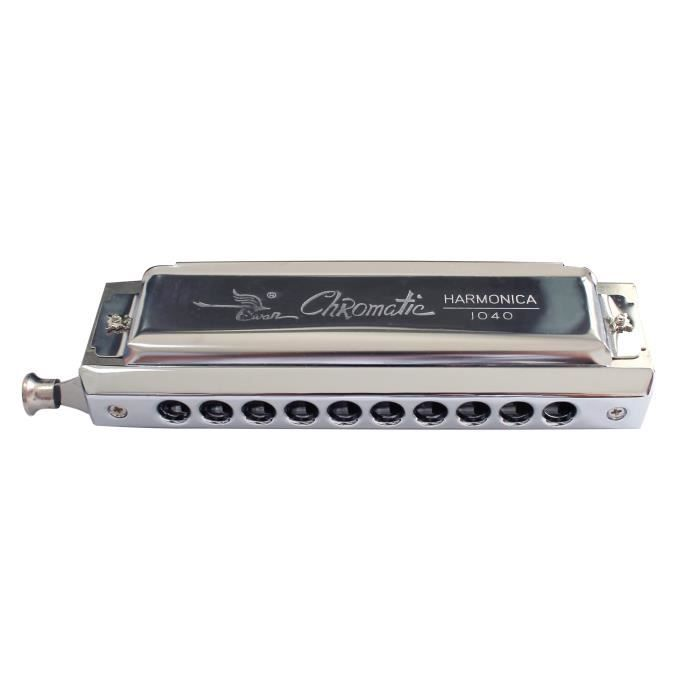 Harmonica chromatique 10 trous