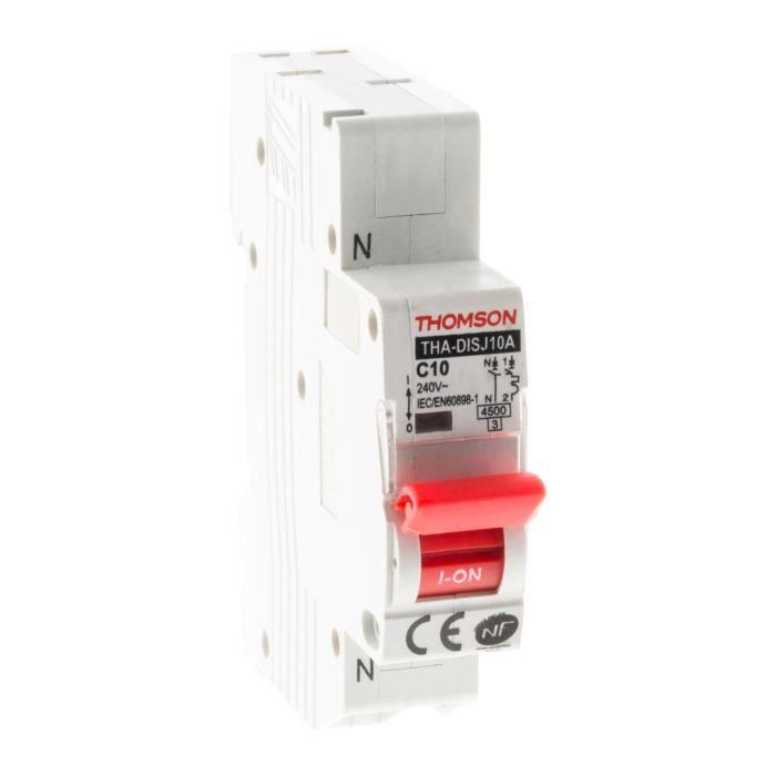 THOMSON Disjoncteurs à connexions automatiques PH+N - 10A NF