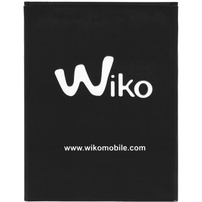 Batterie Wiko Pulp Fab 4G Batterie d'origine Wiko 2820mAh Noir