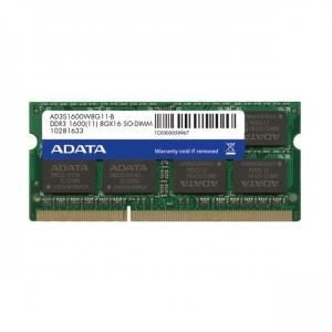 MÉMOIRE RAM Sodimm D3-1600 A-data 8Go 512*8CL11