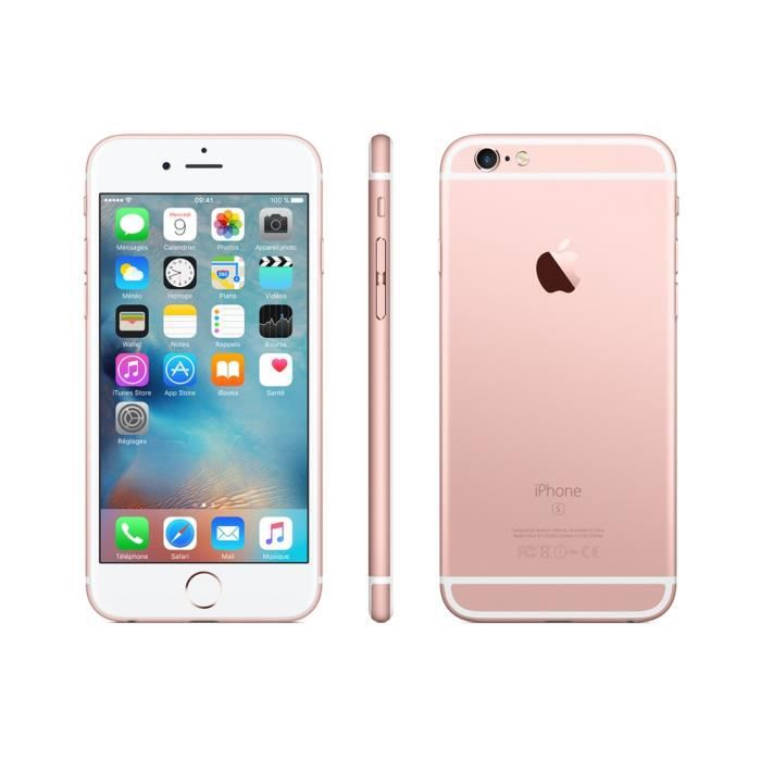 iphone 6s 16go 4g rose gold tr s bon etat non reconditionn achat smartphone pas cher avis et. Black Bedroom Furniture Sets. Home Design Ideas