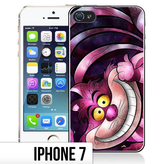 Coque Iphone 7 Chat Alice Aux Pays Des Merveilles