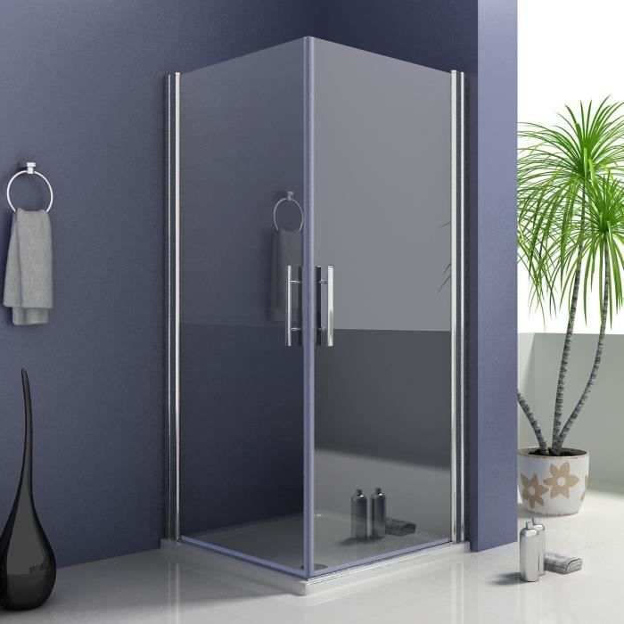70 70 185cm shower enclosure porte de douche r glable cabine de douche antic - Cabine de douche 70 cm ...