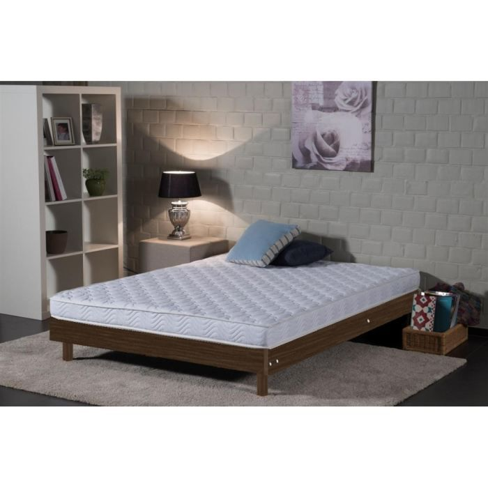 ensemble 140x190cm matelas mousse sommier weng achat vente ensemble literie cdiscount. Black Bedroom Furniture Sets. Home Design Ideas
