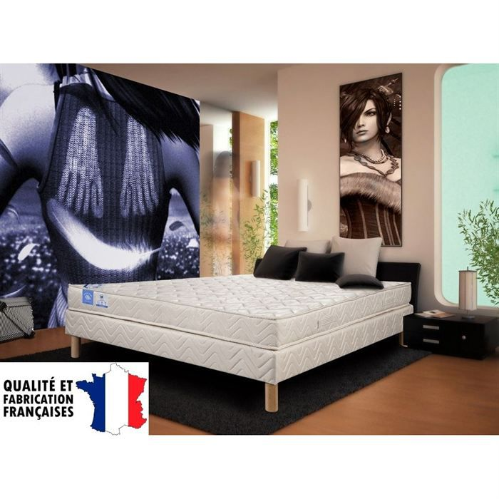 matelas belle literie 140x190cm 100 latex 5 zones achat. Black Bedroom Furniture Sets. Home Design Ideas