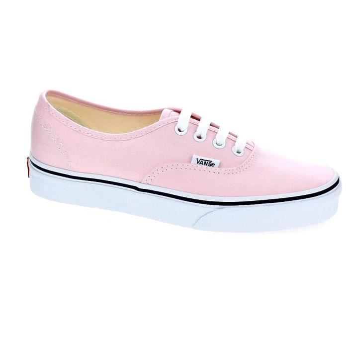 vans authentic rose fille