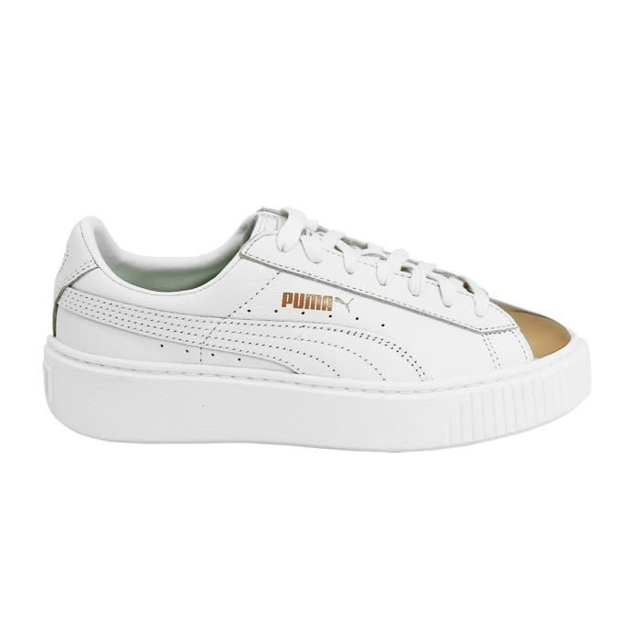 Sneakers Chaussures Puma Basket Mode Metallic Platform Femme Pnwk0O