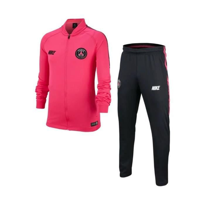 Ensemble De Survêtement Nike Psg Dri-Fit Squad Junior ...