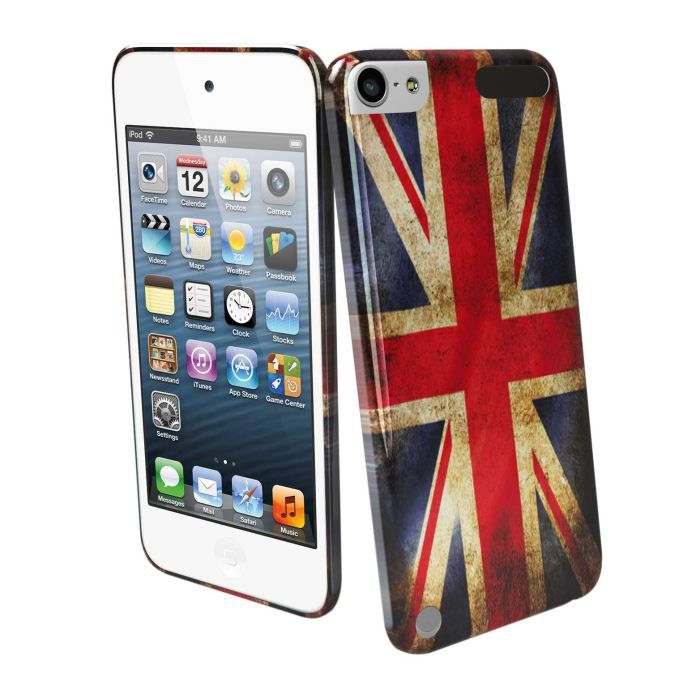 Coque housse ipod touch 5g muvit drapeau uk vieilli for Housse ipod touch