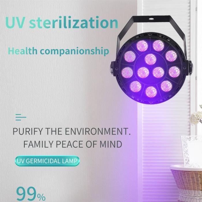 Lumary Lampe de St/érilisation UVC Capteur intelligent Sterilisateur UV Costume Lampe Germicide LED 20W Convient pour la Chambre Cuisine Salle De Bains Compatible avec Alexa et Google Assistant