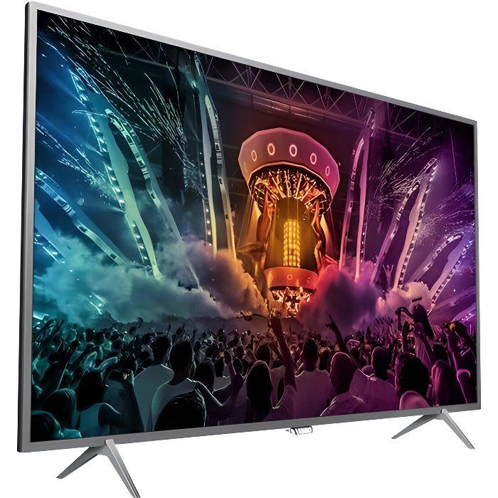 Téléviseur LED PHILIPS 49PUS6401 TV LED Ambilight UHD 4K 123cm (4