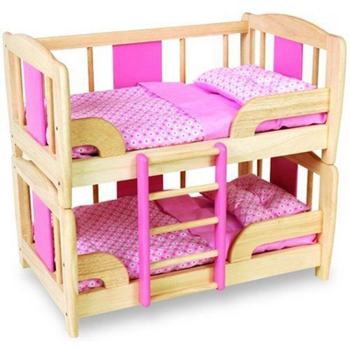 pintoy lit superpos pour poup es import gran achat vente univers miniature cdiscount. Black Bedroom Furniture Sets. Home Design Ideas