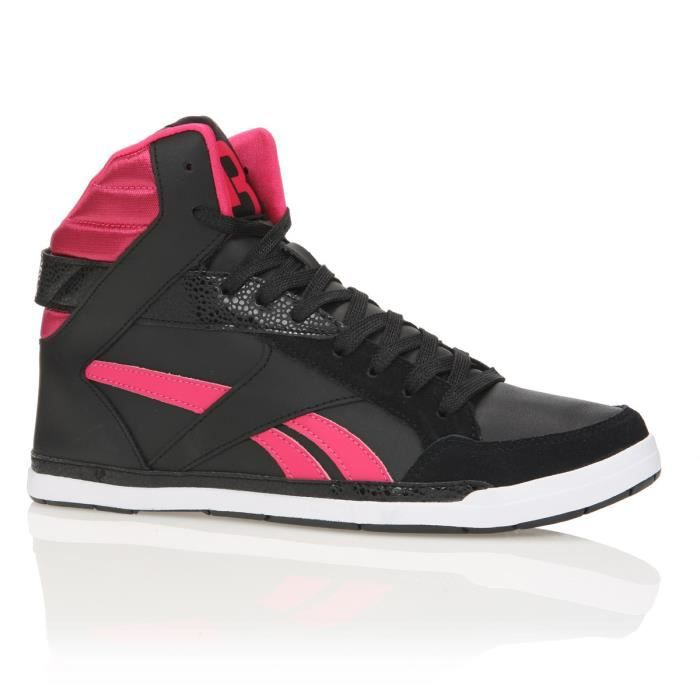 reebok baskets rhythmcity mid femme femme noir rose achat vente reebok baskets rythmcity. Black Bedroom Furniture Sets. Home Design Ideas