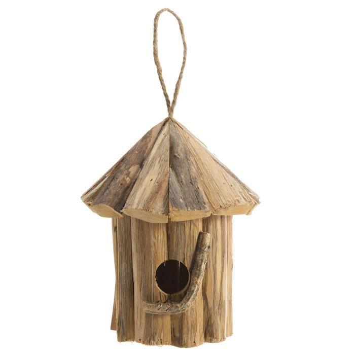 Lettre oiseau en bois S Petit Jour