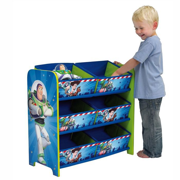 rangement ludique toy story achat vente commode de chambre cdiscount. Black Bedroom Furniture Sets. Home Design Ideas