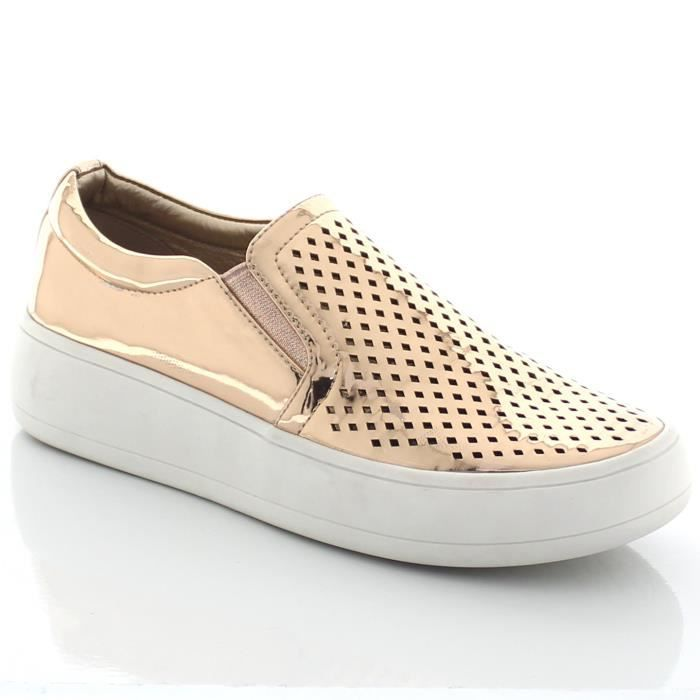 Slip On Perforated Sneaker Teresa8 G6MTA Taille-36 1-2