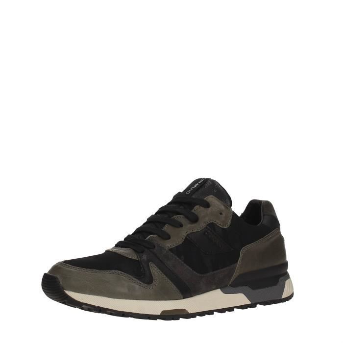 Crime Sneakers Homme GREEN/BLACK, 45