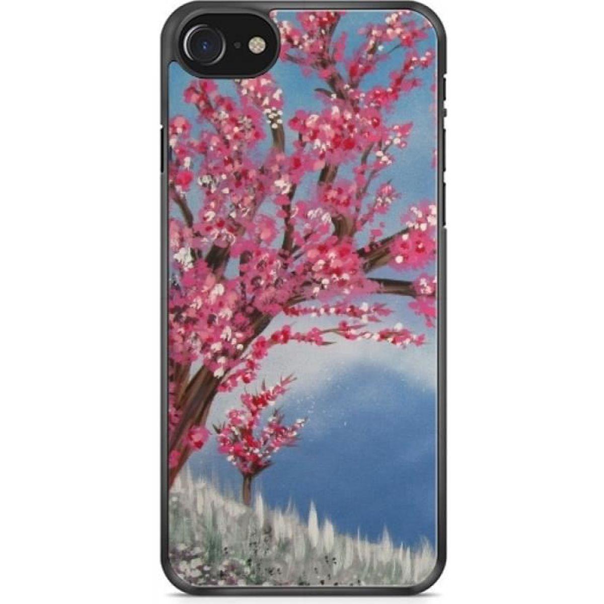 coque pour iphone 7 7s 4 7 fleur de ceris