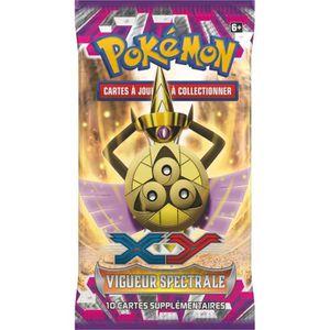 CARTE A COLLECTIONNER POKEMON XY 04 Booster - 10 cartes Pokémon