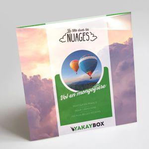 COFFRET SPORT - LOISIRS Yakaybox - Box Cadeau - Coffret Voyage en Montgolf