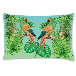 COUSSIN Coussin rectangulaire perroquets by Cbkreation