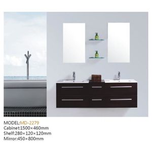 meuble double vasque 120 achat vente meuble double. Black Bedroom Furniture Sets. Home Design Ideas