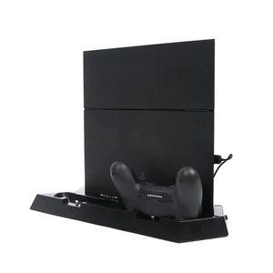VENTILATEUR CONSOLE PS4 Station d'accueil Double chargeur Ventilateur