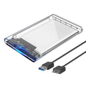 DISQUE DUR EXTERNE 2.5 Disque dur externe Caisse de disque SSD - HDD