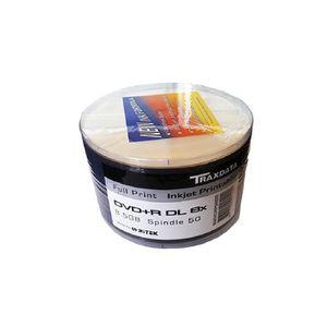 CD - DVD VIERGE 50 DVD+R 8.5GB TRAXDATA Imprimable