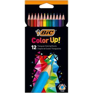CRAYON DE COULEUR Bic triangulaire de crayons de couleur Color Up, E