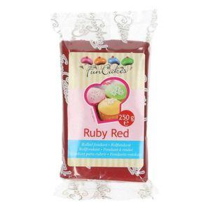 PATE A SUCRE Pâte à sucre 250 g - Rouge grenat