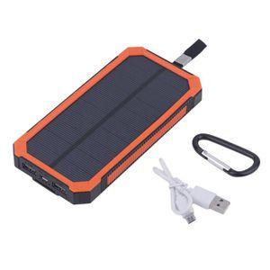 BATTERIE EXTERNE chargeur de batterie solaire portable double usb s
