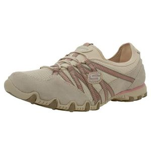 Bikers hot ticket femme skechers 21159 Beige Achat Vente
