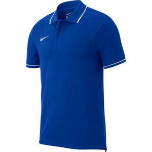 POLO DE SPORT Nike Polo Team Club coton enfant bleu