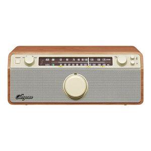 RADIO CD CASSETTE SANGEAN WR12 Radio Genuine - Châssis bois en noyer