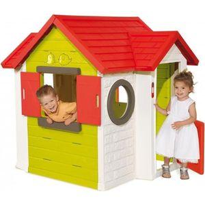 MAISONNETTE EXTÉRIEURE SMOBY Maison Enfant My House