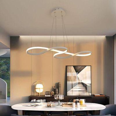Suspension Led Lampe Pour Plafond Haut Blanc Lustre Note De