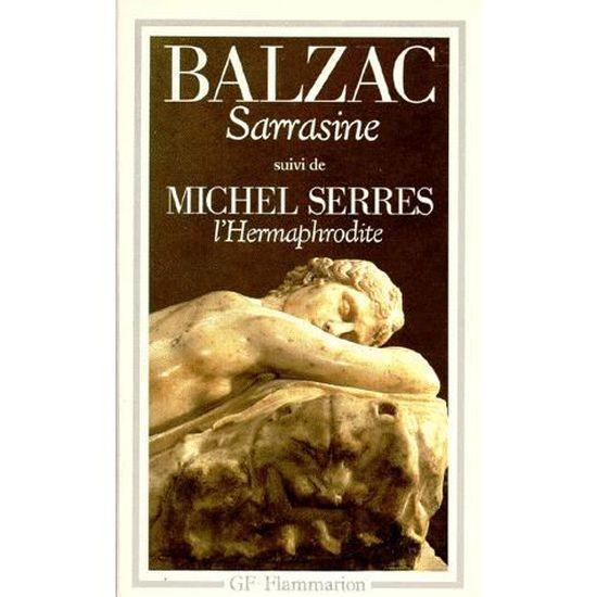 Couverture de Sarrasine et hermaphrodite