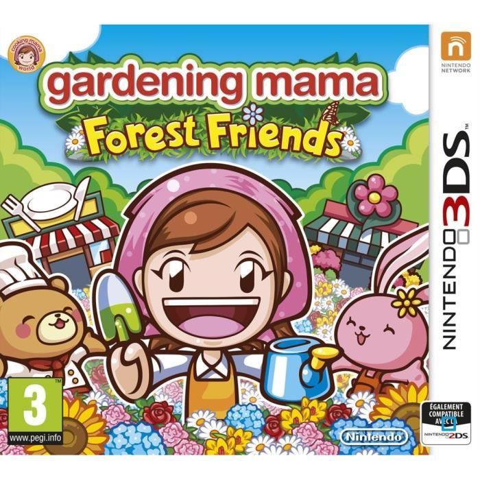 JEU 3DS Gardening Mama Forest Friends - Jeu Nintendo 3DS