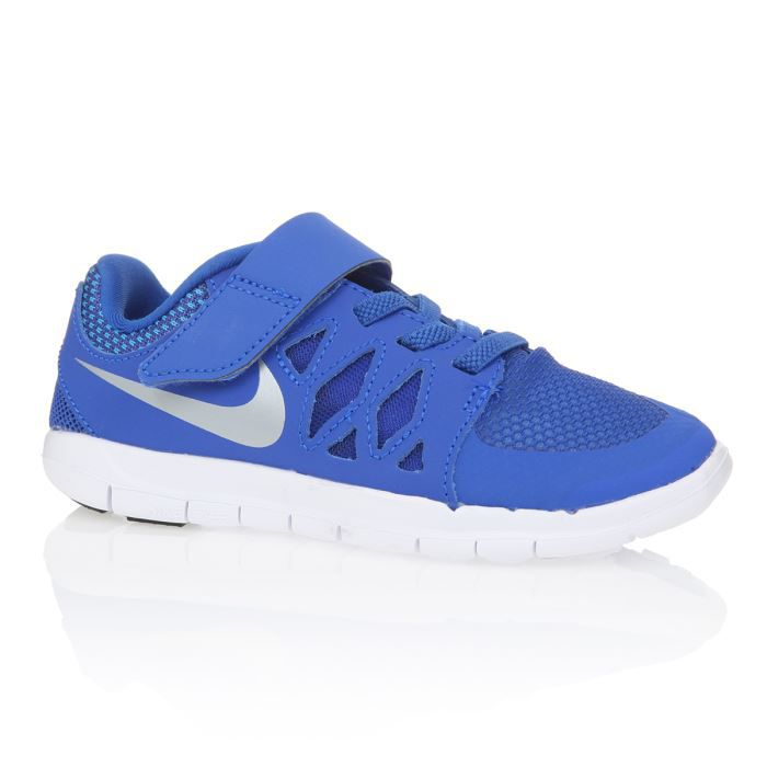 nike baskets free 5 0 enfant bleu dur achat vente basket cdiscount. Black Bedroom Furniture Sets. Home Design Ideas
