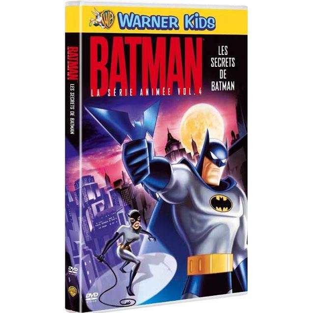 DVD Batman, la serie animée vol. 4 : les secret...