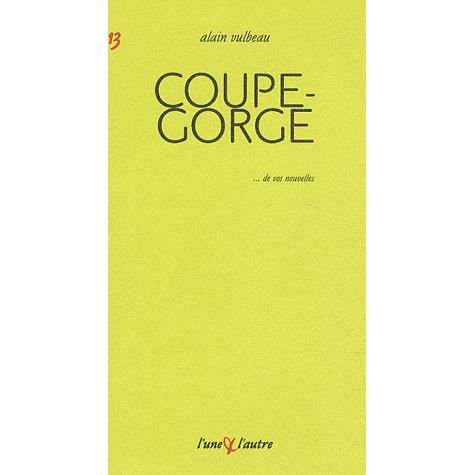 Coupe-gorge
