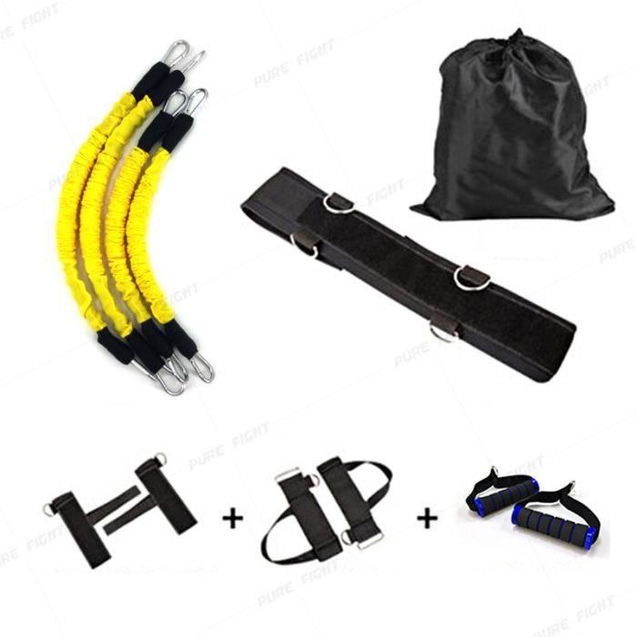 Entraînement puissance résistance bandes boxe Endurance agilité tirer corde Crossfit bande de - Modèle: Yellow Set - HSJSTLDA01802