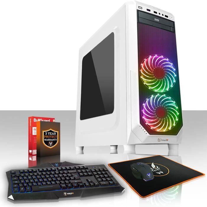 Fierce Exile Pc Gamer de Bureau Amd Athlon X4 950 4X3.8Ghz Cpu, 8Go Ram, Gtx 1050 Ti 4Go, 1To Hdd 417069